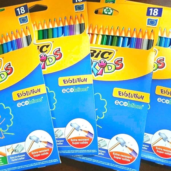 Donate Colouring pencils