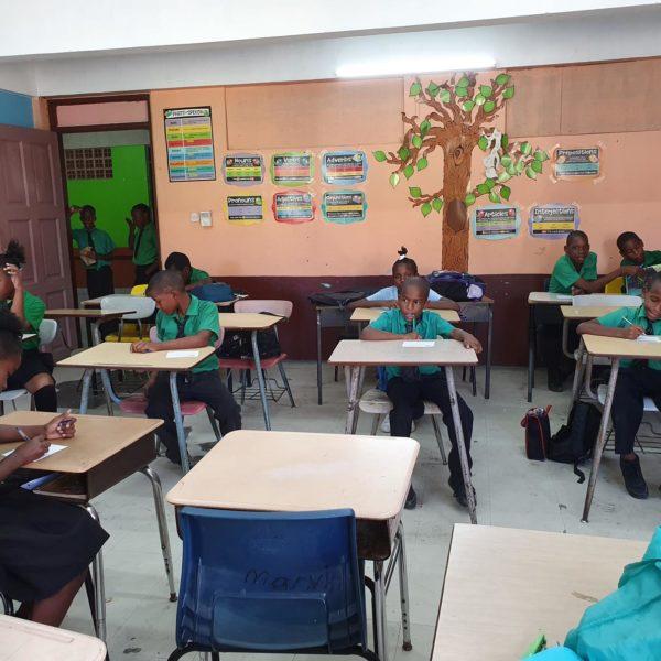 Helping children Dominica